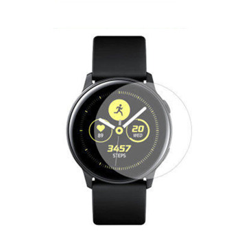 2pcs Protective Film for Samsung Galaxy Watch Active 2 40mm 44m Ultra-thin Round Edge Watch Screen Protectors image