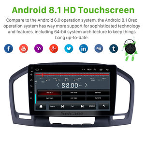 Image 3 - Seicane 9 inch 2din Android 8.1 Car Head Unit Radio Audio GPS Multimedia Player for 2009 2010  2013 Buick Regal support Carplay