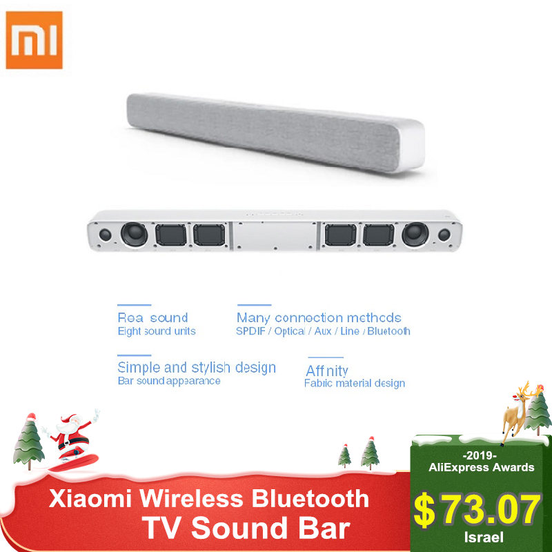 Xiaomi Wireless Bluetooth Sound Bar Speaker Soundbar Smart TV Audio Home Theater AUX SPDIF Optical Support Sony Samsung LG TV
