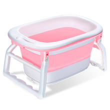 Folding Bathtub Adult Large bubble Bathing Bucket device baby can sit and lie down in the bathtub for home use Saving space