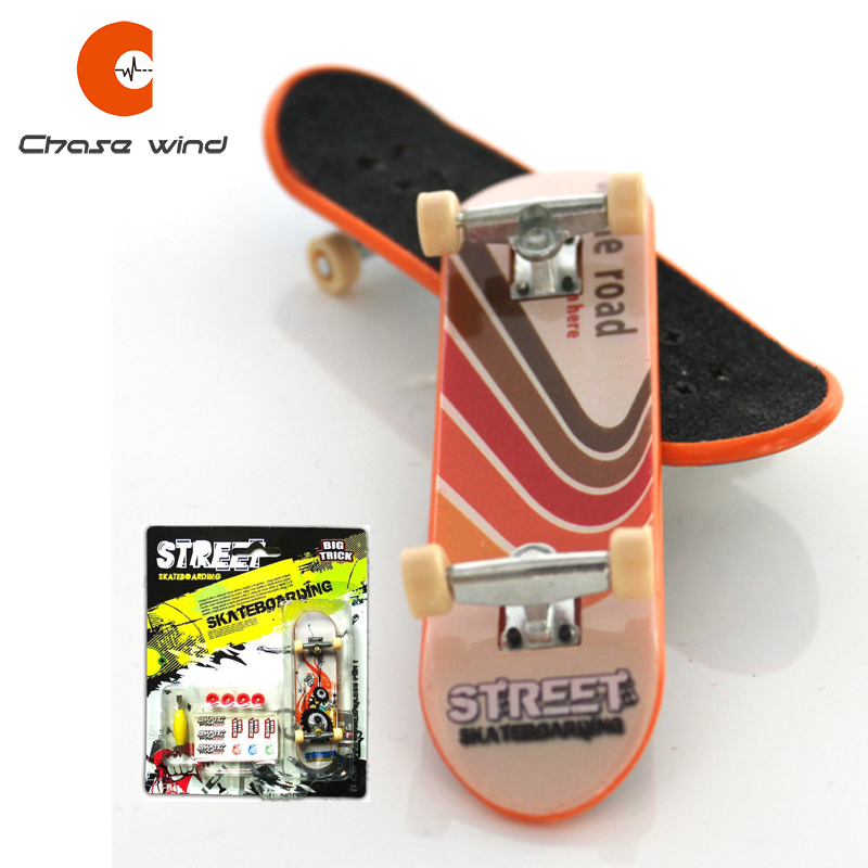 Fingerboard Finger Skateboard Alloy Bracket Double Rocker With Spare Parts Gift For Extreme Sports Enthusiasts Suits All Age