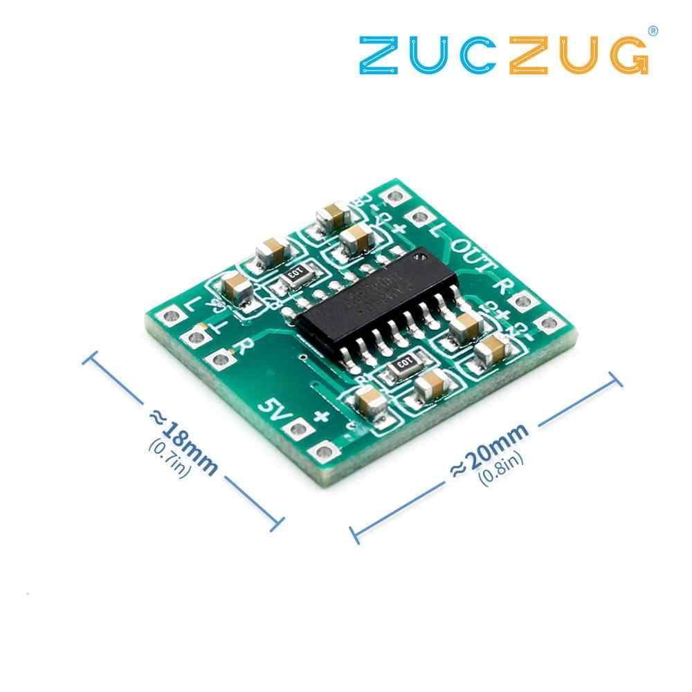 PAM8403 Super MINI DIGITAL Amplifier BOARD 2*3W Class D ดิจิตอล 2.5V ถึง 5V Power Amplifier BOARD มีประสิทธิภาพ