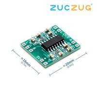 Placa amplificadora digital 2*3w pam8403  super mini amplificador digital classe d  2.5v a 5v placa eficiente