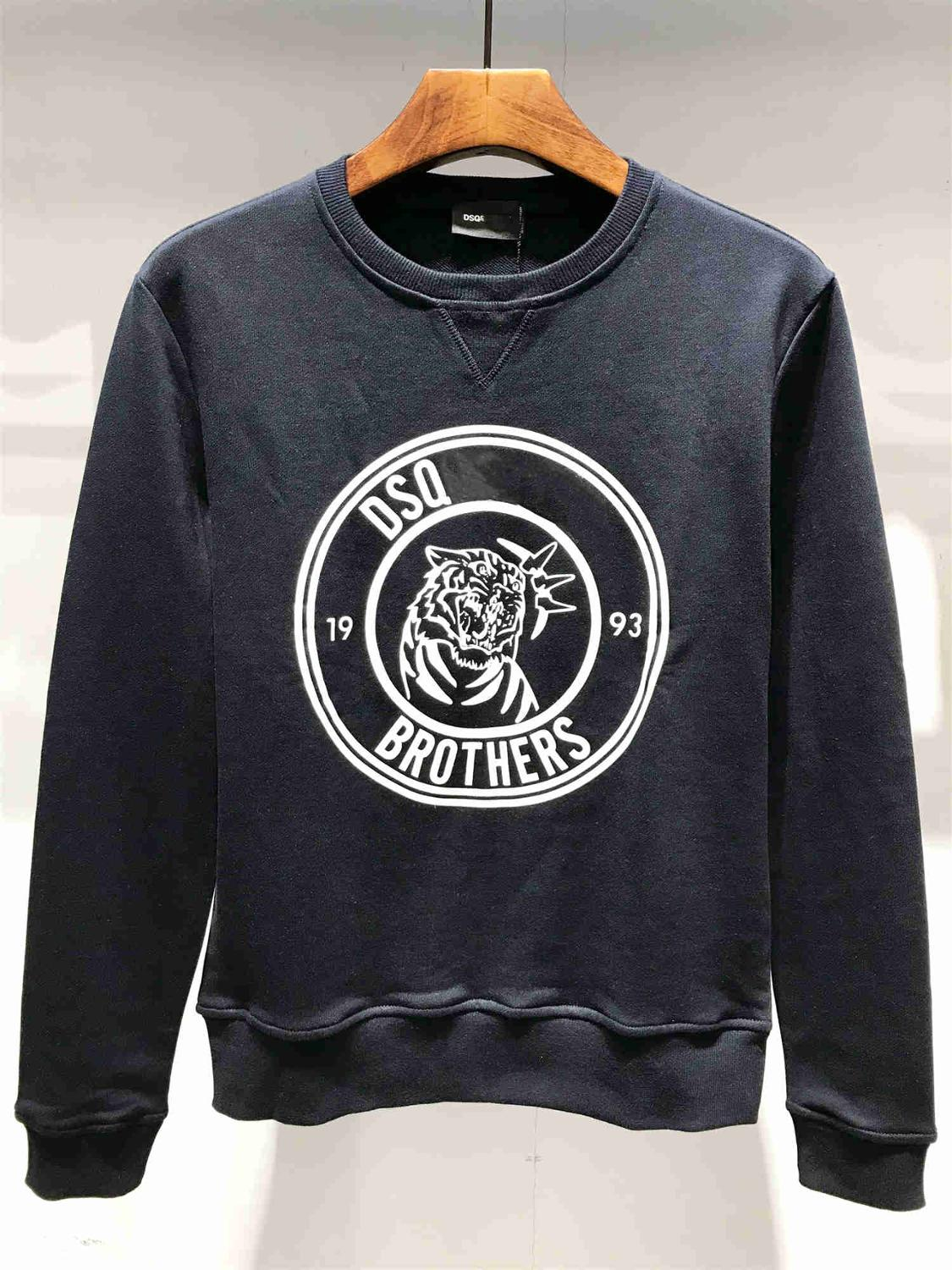NEW Men's 2019 Spring Autumn Dsq D2 Sweatshirts Men's Sweatshirt Tops 1 Order