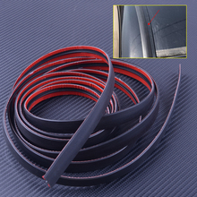 Car Universal 3M 118 inch Door Seal Strip Front Rear Windshield Sunroof Weatherstrip Edge Protector Trim Rubber Anti Scratch