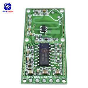 Image 4 - 5 шт./Лот, микроволновый датчик обнаружения человека, 3,3 В