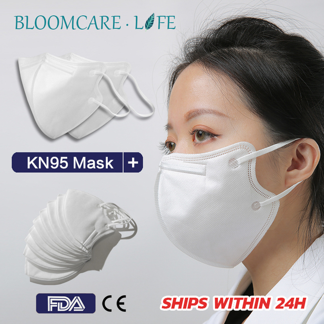 Ship in 24 Hours 【BloomCare】KN95 Mouth Mask Dust-proof Anti-Flu Breathable Comfortable Face Mask