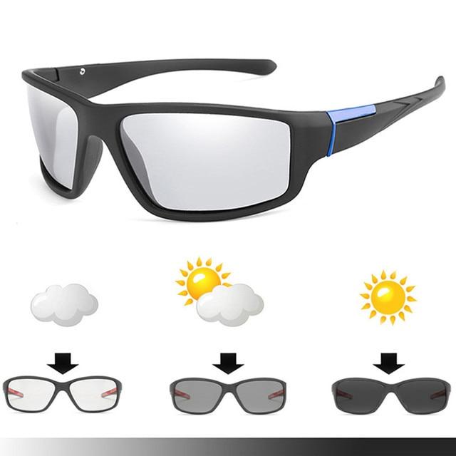 Aielbro ciclismo óculos de sol photochromic ciclismo bicicleta esportes homem ciclismo óculos ciclismo ciclismo 2