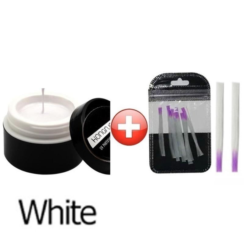 10Pcs Fibernails 1pcs Building Gel Fiberglass for Nail Extension Acrylic Nails Tips Set Manicure Tools in Sets Kits from Beauty Health