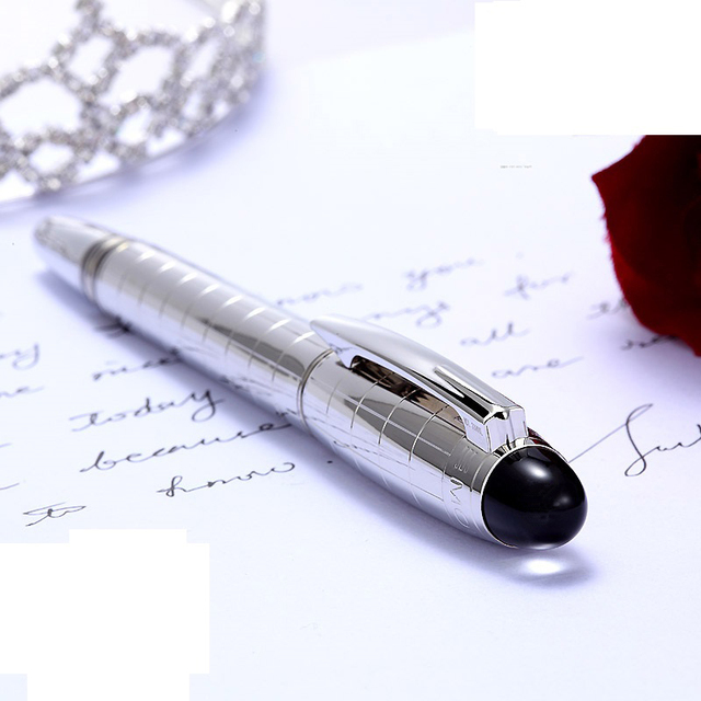 Brand Ball-point Pen Signature Pen Black Red Pen Souvenirs 1