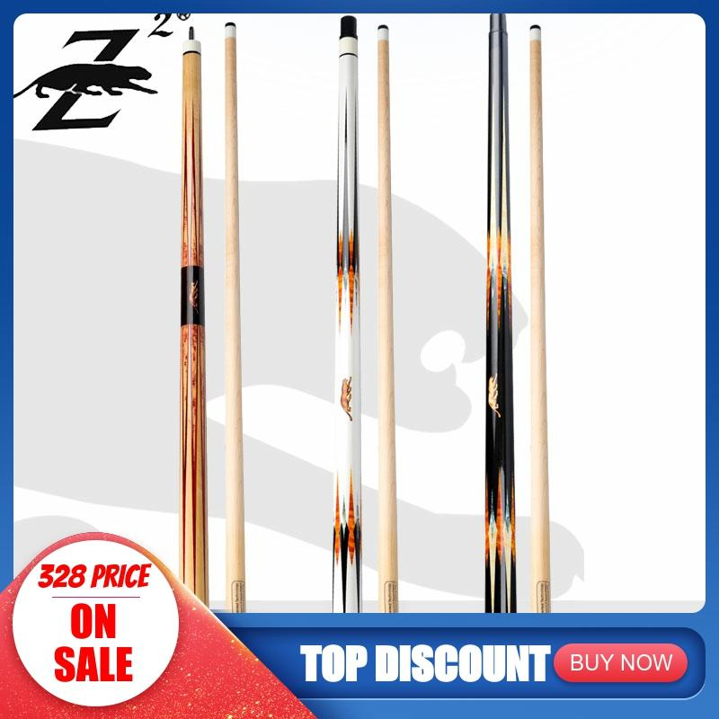 PREOAIDR 3142 Z2 SE Pool Cue Stick Billiard 10/11.75/13mm Tip Maple Shaft Smooth Wrap With Case With Joint Protector Uni-loc