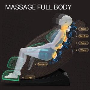 Image 3 - Jare R5 2C Luxus Automatische Shiatsu Kneten Ball Günstige Neue Design Elektrische Null Schwerkraft Erhitzt Hause Körperpflege 4D Massage Stuhl