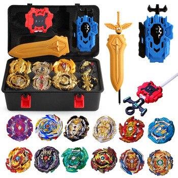Набор волчков Beyblade Burst, упаковочная коробка в подарок, игрушечная Арена, лезвие Bey Blade Bayblade Bable Drain Fafnir Blayblade 423480