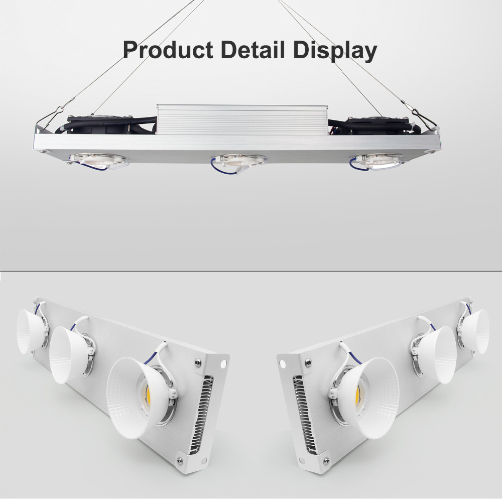 Dimmable CREE CXB3590 300W 450W COB LED Grow Light Full Spectrum Vero29 LED Growing Lamp Indoor Plant Growth Lighting 85-265V/AC