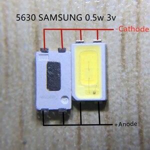 Image 5 - 2000 pces para samsung led backlight 0.5w 3v 5630 branco fresco lcd backlight para tv aplicação spbwh1532s1zvc1bib