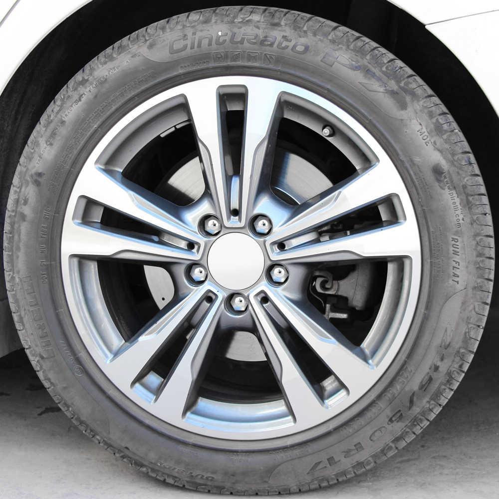 RelaxToday 17mm 20PCS Car Wheel Nut Caps Hub Screw Cover,For Ford Focus 2 3 Mondeo MK4 Mustang Edge Kuga Fiesta Ecosport Fusion C-MAX Transit Ranger