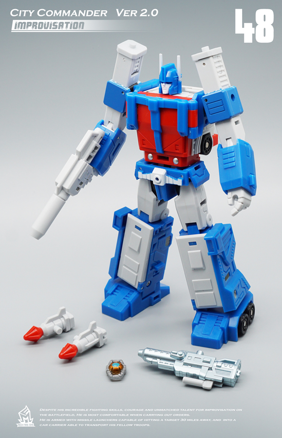 Image 5 - MFT Transformation MF 48 MF48 Ultra Magnus UM Ver2.0 City Commander Action FIgure Robot Toys-in Action & Toy Figures from Toys & Hobbies