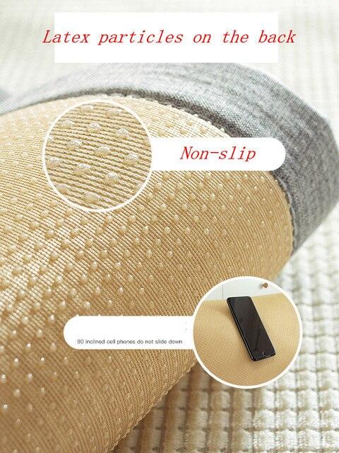 Фото тканевый нескользящий универсальный чехол для дивана всесезонный
