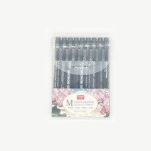 9 pçs caneta de agulha extremamente fina canetas de desenho em quadrinhos linha de gancho caneta de curso mão-desenhado esboço caneta cabeça macia esboço canetas arte suprimentos