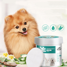 Pet Products To Remove Tears, Eye Wipes 130 PCs Dog To Remove Tears Cat To Clean Eyes Remove Eye Dirt Wipes Easy To Use eye to eye