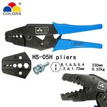 цена на COLORS HS-02H2 coaxial crimping pliers 4.5 4.3mm coaxial crimper SMA/BNC connectors carbon steel ratchet crimping tools