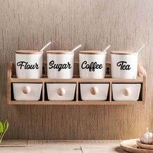 Креативные кухонные виниловые наклейки декор для кухонная коробка