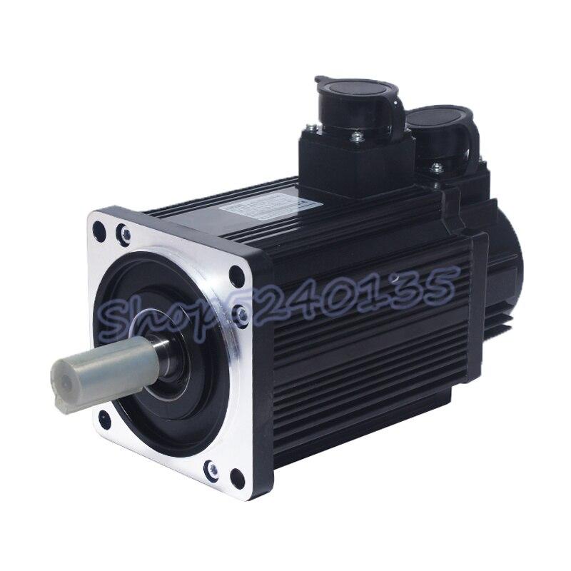 130st m06015 220 v ac 0.95kw servo motor ac unidade 950w 6n. m alta velocidade 1500 rpm com cabo de 3m para cnc roteador gravura - 2
