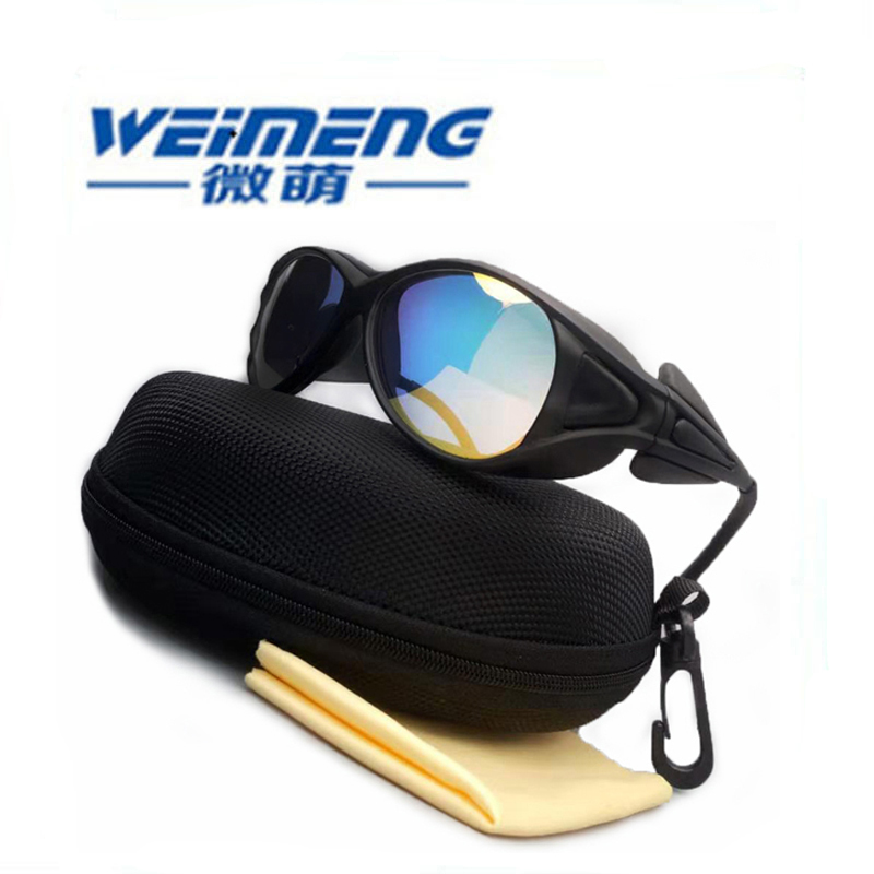 Weimeng brand 9900nm-11100nm OD6+ safety CO2 laser protective goggles for CO2 engraving / welding machine beauty equipment