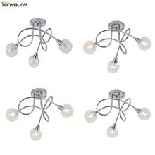 Luminária led moderna de teto fixada em superfície, para sala, quarto, para áreas internas, decorativa, para teto