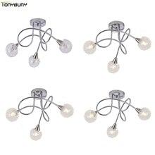 Luminaire Led suspendu à plafond moderne à LEDs lumières, montage en Surface, luminaire décoratif au plafond, montage dintérieur, idéal pour le salon ou la chambre à coucher