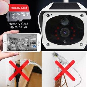Image 4 - HD 1080P Solar WiFi IR Bulllet Security IP Camera Outdoor Sony IR Night Vision Audio PIR Alarm CCTV Battery Camera with SD Card