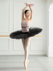 Image 4 - 여자 발레 레오타드 발레리나 파티 민소매 댄스 체조 점프 슈트 발레 의상 Turnpakje Bodysuit for Tutu Dancerwear