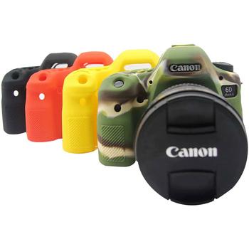Tenelele etui miękkie silikonowe etui torby dla Canon EOS 6D Mark II 2 kolor gumowy ochrony ciała etui do aparatów Canon 6D2 torby na aparat akcesoria tanie i dobre opinie TENENELE Torby aparatu DSLR Camera Torebki For Canon EOS 6D Mark II Camera Camera Bags For Canon EOS 6D Mark II For Canon EOS 6D2 Camera Protect Body Cases