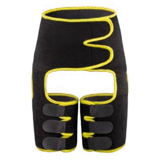 Waist Trainer Belt Slimming Body Shaper Belt Three-In-One Female Sweat Plastic Belt Sports Bodybuilding Adjustable Waist Belt 5