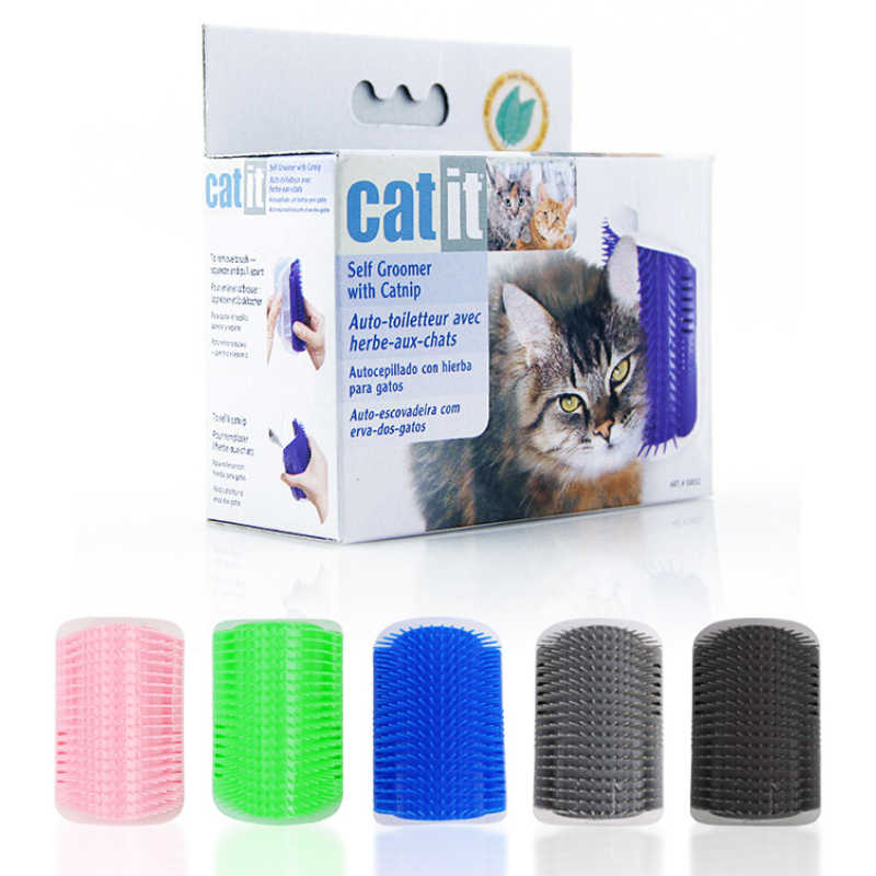 Pet cat wall corner hair massager Cat scratching itchy scratching cat cat comb massage corner brush comb
