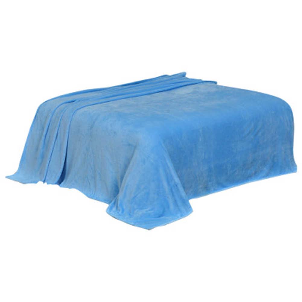 Miękkie ciepłe flanelowe koc zimowy arkusz jednolity kolor narzuta na sofę dekoracje do wnętrz do sypialni ностелное беле