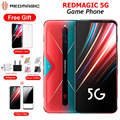 Original EU Version Nubia RedMagic 5G Game MobiePhone 8/12GB RAM 128/256GB ROM Snapdragon865 6.6564MP 4500mAh NFC Android Phone