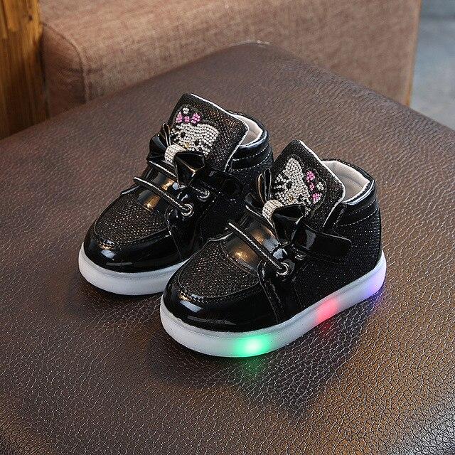 Toddler Glow in the Dark Sneakers 6