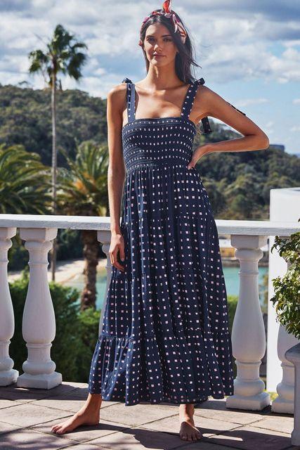 Fashion Summer Women Dress Square Neck Sling Print Sexy Halter Beach Dress Women's Casual Holiday Dresses 2021 New Vestidos 4
