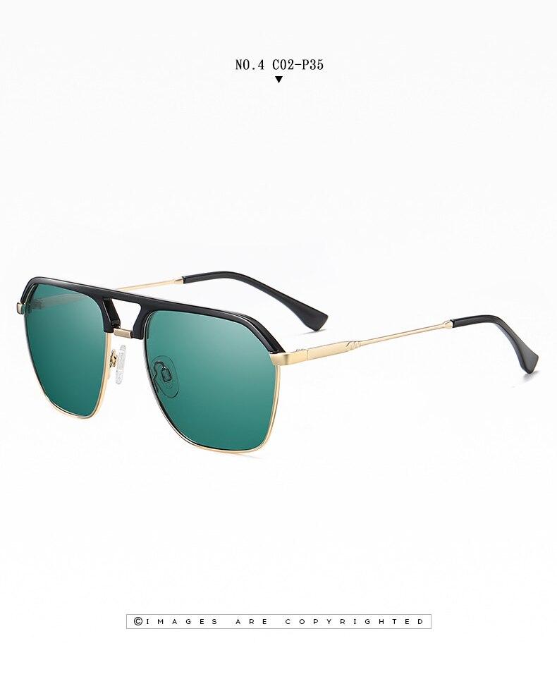 Classic Pilot Polarized Sunglasses Men Coating Mirror Sport Retro Sun Glasses Men Ride Travel Driving Fishing Eyewear Male UV400 (17)