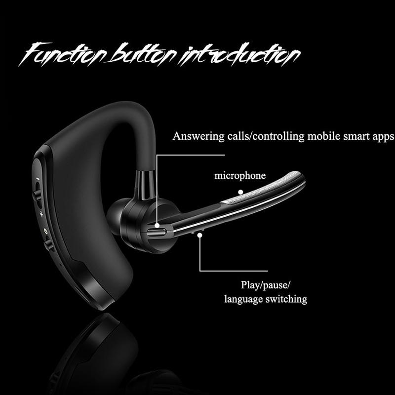 2020 LIGE Newest Bluetooth Earphone Wireless Headphones Stereo Handsfree Noise Reduction Headset HD Mic Earbuds Not TWS Earbuds