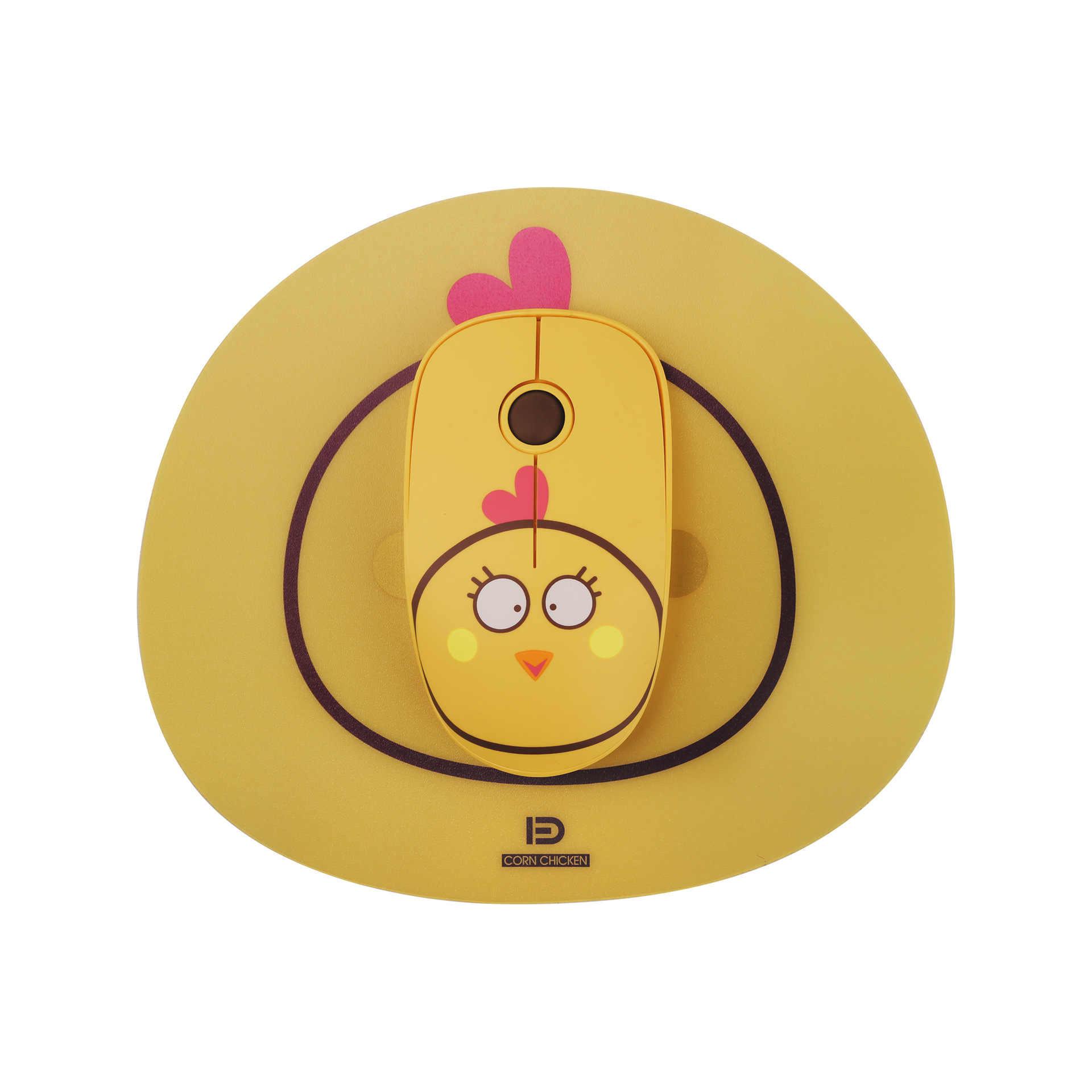 Marke Neue Drahtlose Maus Computer Zubehör Kreative Neuheit Rosa Mädchen Optische Maus Tragbare Mini Stumm 2,4 Ghz Gaming Maus