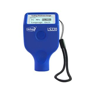 Image 2 - Paint Coating Thickness Tester 0 2000μm 0.1μm Fe NFe Probe Gauge LS220 For Auto Car Automatically Identifies Substrate&Switch Me