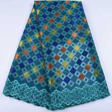 HaoLin African Lace Fabric Swiss Voile Lace High Quality Nigerian Lace Fabrics For African Wedding Party Tissu African Broderie