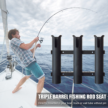 Pole-Tube Storage-Holder Fishing-Rod Portable Outdoor 3-Link Vertical Easy Carrying Multifunctional
