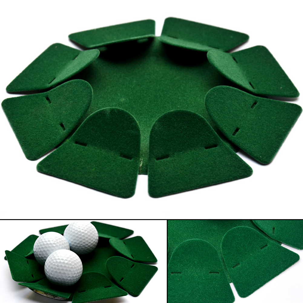 Tools Green All-Direction Putting Cup Training Aids Office Golfing Accessories Hole Outdoor Flocking Covered Home Indoor Sturdy