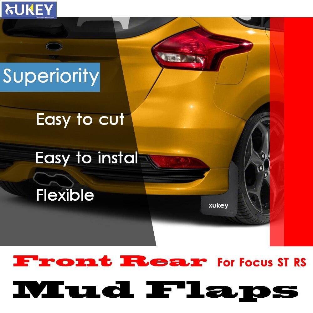 Ford Focus MK3 RS//St250 delantero MUD FLAPS//guardias De Piedra.