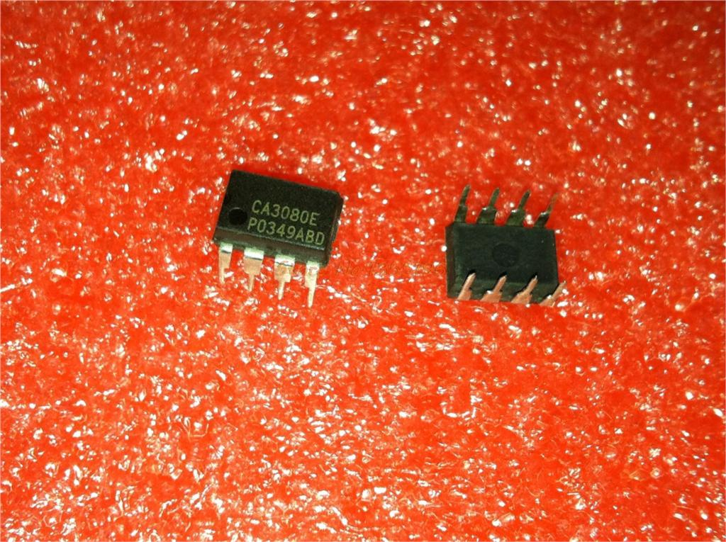 1pcs/lot CA3080E CA3080 DIP-8 IC In Stock