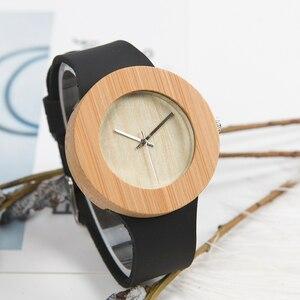 Image 2 - BOBO BIRD Relogio Masculino Promotion Watch Wood Craft Birthday Gift to him Custom Christmas Gifts in Box Wristwatch Leather