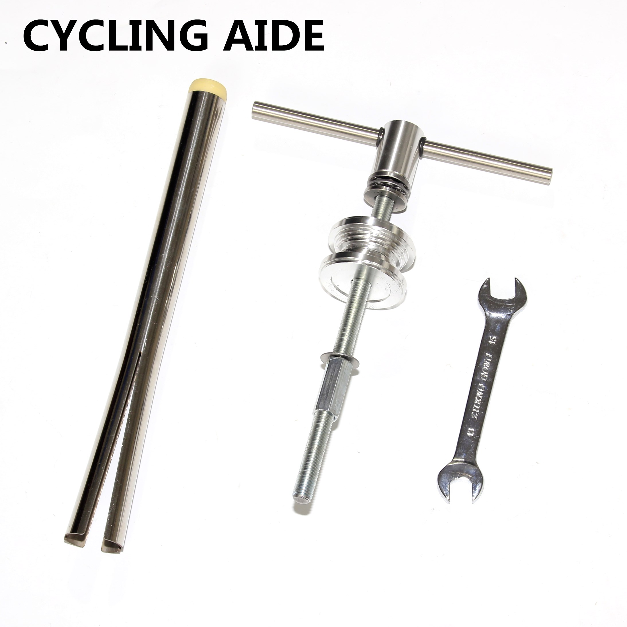 Bottom-Bracket-Cup Press Dismount-Tools Headset-Installation Bike Bicycle title=